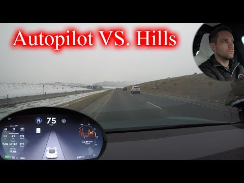 How Autopilot Handles on Hills? Autopilot 2018.6.1