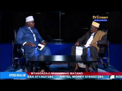 Live: mahojiano ya moja kwa moja na Mufti wa Tanzania Sheikh Abubakar Zubeir