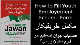 ... kamyab jawan program | youth employment scheme yes prime minister's j...