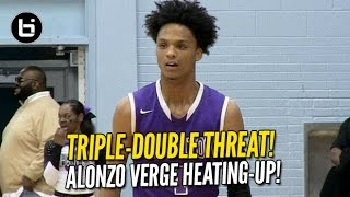 alonzo verge is a triple double threat electric pg full highlights