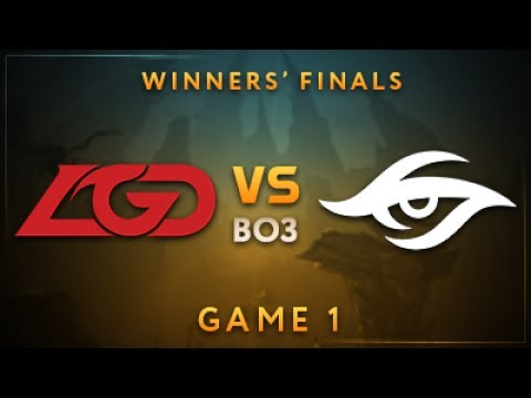 Team Secret vs LGD Gaming vod