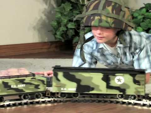 Model Railroad Toy Train Scenery -Tremendous Suggestions For Assembling G-Scale Army Train