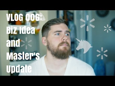 New Business Idea and Master's Update