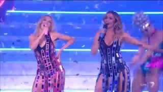 Kylie And Dannii Minogue - 100 Degrees - The X Factor Australia 2015