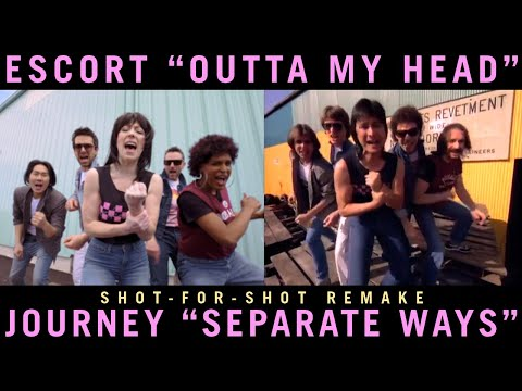 Charlie Parker - A Band Did a Shot-for-Shot Remake of Journey's Separate Ways Video