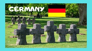 GERMANY: A WW2 CEMETERY of GERMAN SOLDIERS, city of KOBLENZ