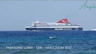 Panasonic Lumix TZ95 - ZOOM TEST 2019 (Handheld HD video)