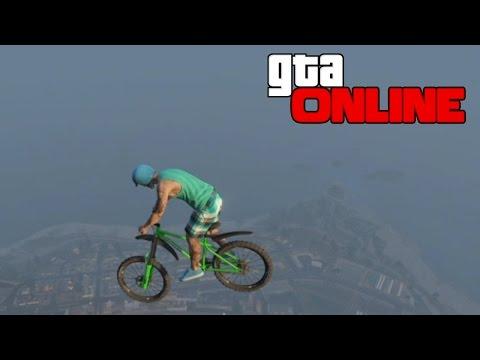 GTA 5 Online (Моды - Гонки) - Дикие Прыжки на Велосипеде - Карты на прохождение