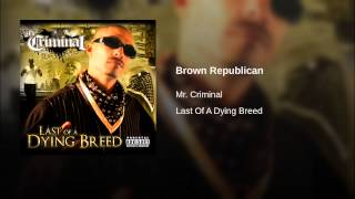 Brown Republican