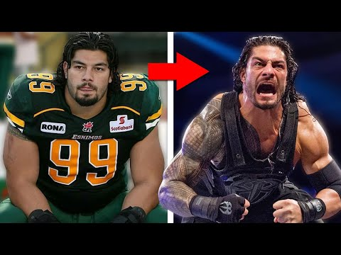 Pro Football Athletes Who Became Pro Wrestlers!