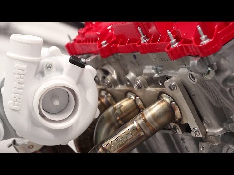 SEMA 2017: Honeywell Garrett G-Series Small-Displacement Turbochargers