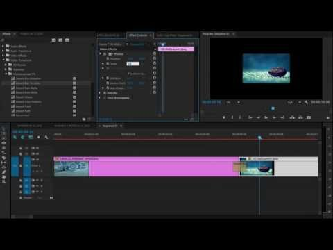 How to Animate Photo in Adobe Premiere Pro CC