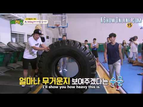 [ENG SUB] Wrestling coach is in love with Jota + Jota shocks everyone by lifting 300KG tire
