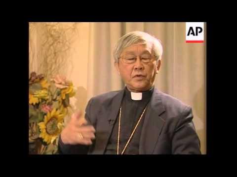 AP interview with Hong Kong Cardinal Zen