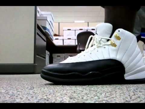 2883282bc087a2 Air Jordan 12 (Taxis) On feet - YouTube