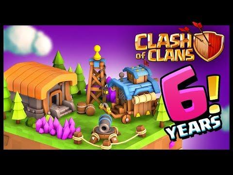 Clash of Clans 6 Years Anniversary!