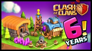 Clash of Clans 6 Years Anniversary!
