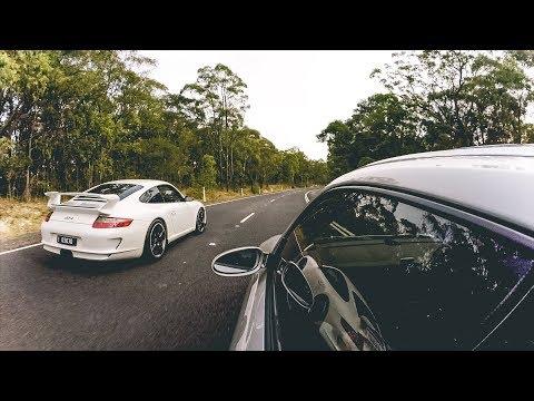 Porsche 997 Carrera & 911 GT3 On The Putty Rd Australia