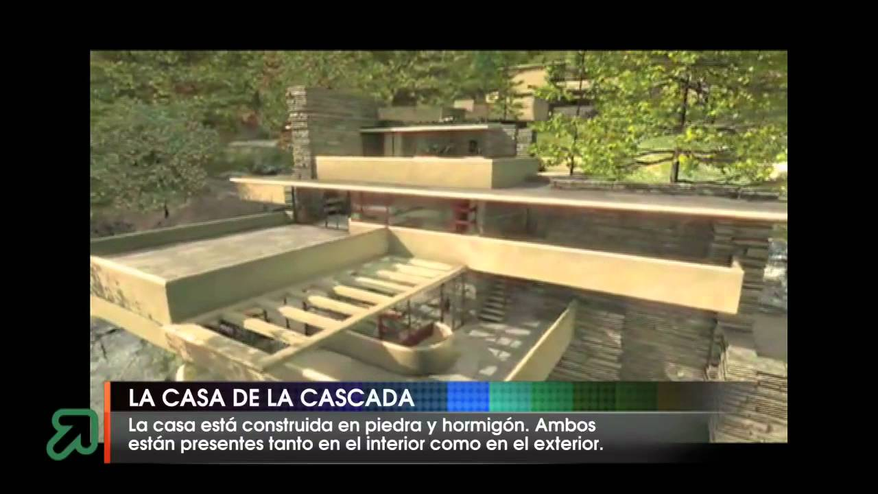 la casa de la cascada youtube. Black Bedroom Furniture Sets. Home Design Ideas
