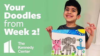 Your Doodles from Week 2!   |   LUNCH DOODLES with Mo Willems!