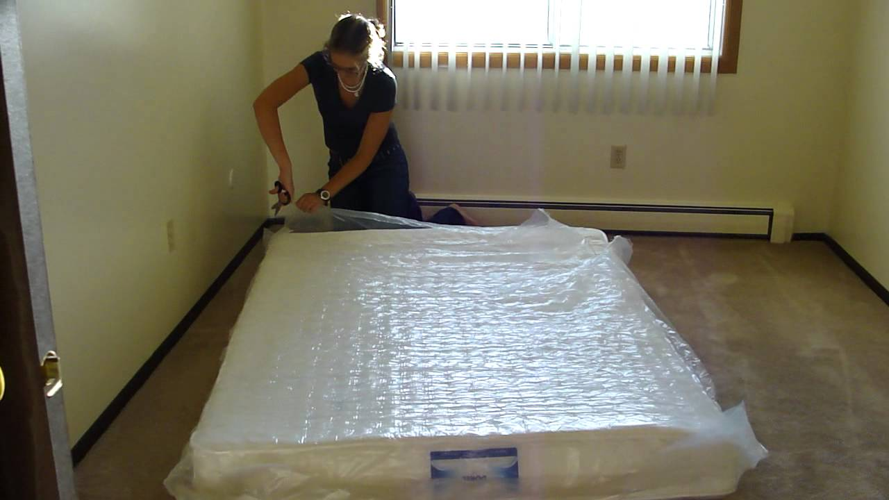 Walmart Mattress Expands in Seconds! Full Size Bed Instantly - YouTube