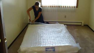 Walmart Mattress Expands In Seconds! Full Size Bed Instantly