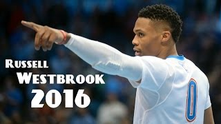 Russell Westbrook best plays of 2016 (NBA)