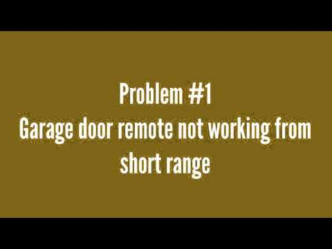 garage door opens halfwayHow to fix a garage door that gets stuck halfway  YouTube