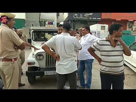 श्रीगंगानगर जिम में चली गोलिया, JORDAN , की मोत पुलिस मौके पर पहुंची
