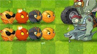 Plants vs Zombies 2 MEGA Citron vs Gargantuar ( Zombistien ) Mega HIT by Primal Gameplay PVZ 2