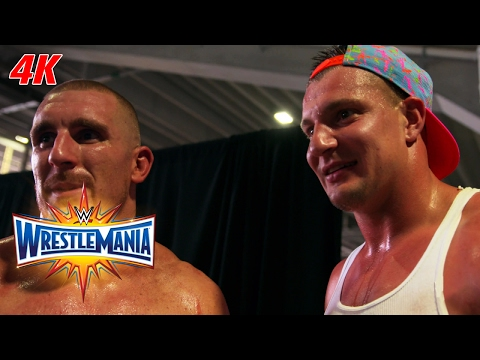 Rob Gronkowski is fired up after helping Mojo Rawley: WrestleMania 4K Exclusive, April 2, 2017