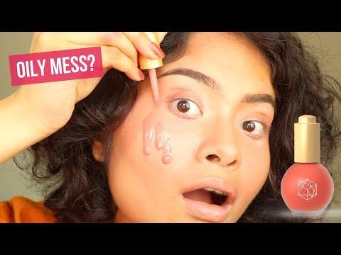 em cosmetics color drops serum blush review