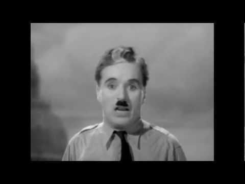 "Charlie Chaplin's Speech In The Great Dictator - Doctor Who Music (Murray Gold ""The Lone Dalek"")"