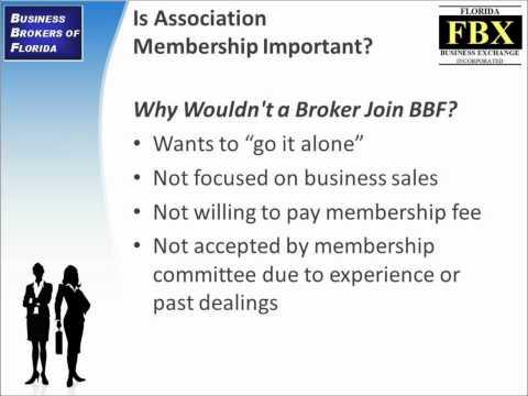 Choosing a Business Broker: Is Association Membership Important