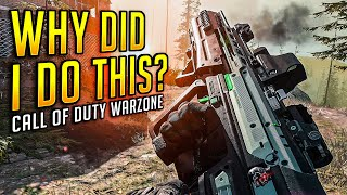 THIS WAS SO STUPID... Call of Duty Warzone
