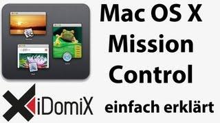 Wie funktioniert Mission Control unter Mac OS X Lion Tutorial