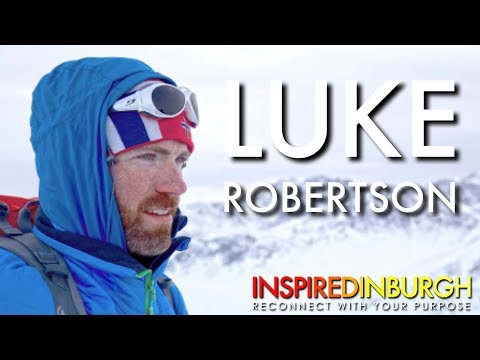 Luke Robertson - The First Scot to the South Pole | Inspired Edinburgh