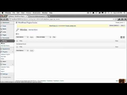 wordpress Custom Post Types 3 Menu Positioning and Custom Icons