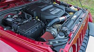Jeep JK Prodigy Turbo Kit 3.6 L Pentastar Overview