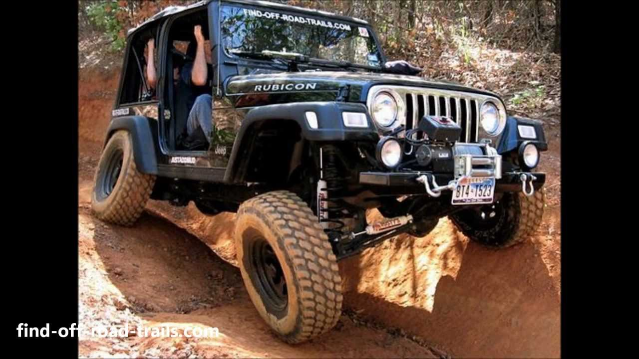 Jeep Wrangler Rubicon Off Road Action Black Betty Youtube