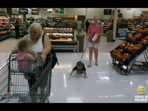 Funny People at Walmart