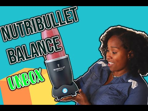 Nutribullet Balance Unboxing + Top Rated Smoothie Recipe (Almond Butter Monkey Business)