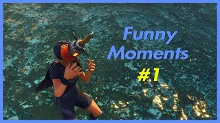 Fortnite Funny Moments and Fails #1 (Fortnite Battle Royale) *CONSOLE PS4*