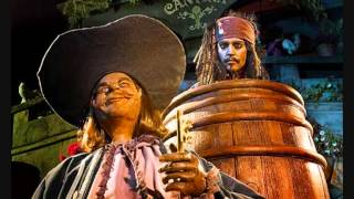 Repeat youtube video Pirates of the Caribbean Ride Audio with Lyrics