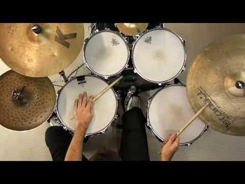 Bossa Nova Drum Kit Groove & Variations