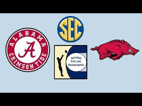NCAA Basketball: #6 Alabama Crimson Tide vs #20 Arkansas Razorbacks (Live Play-By-Play & Reactions)
