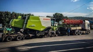 Így érkezett és állt talpra a 650-es LEXION az Agroszásznál