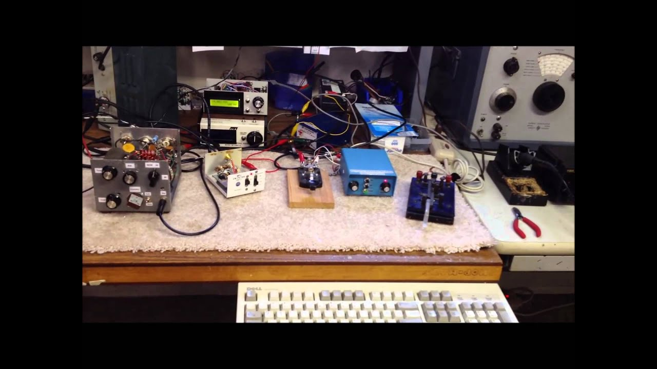 AC-1 'Clone' HomeBrew CW Transmitter (Part 2) - With DDS VFO