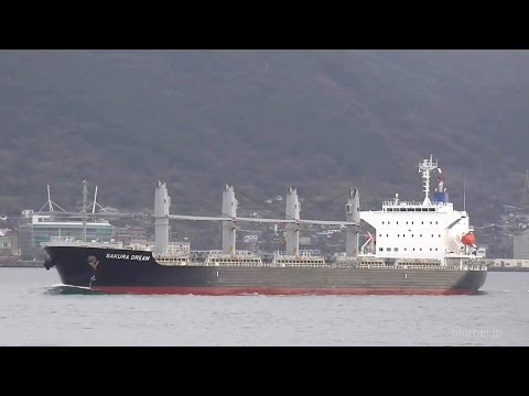 SAKURA DREAM - SHUNZAN KAIUN bulk carrier