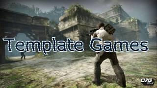 Трейлер канала template games